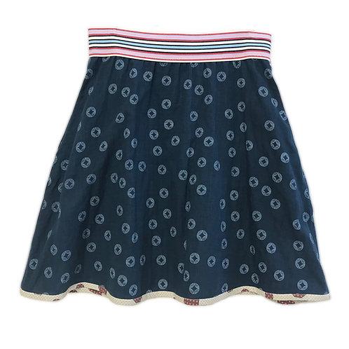 Blue Circles Skirt