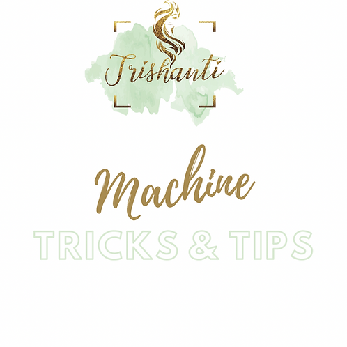 Tricks and tips to using your sewing machine