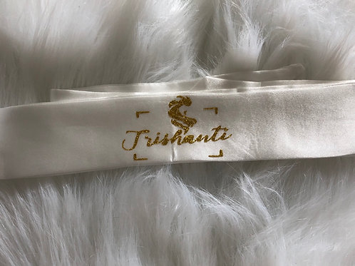 Satin silk head wraps by TRISHANTI