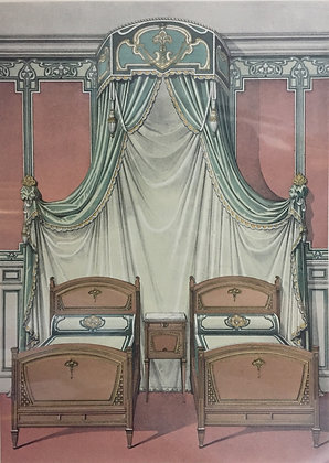 Beds and Drapes: Plate 10