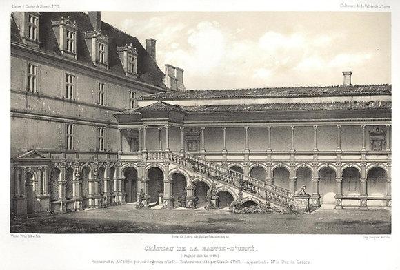 Plate 001: Château de La Bastie-D'Urfa