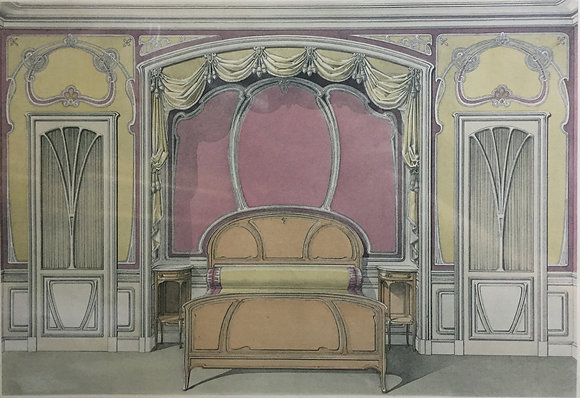 Beds and Drapes: Plate 5