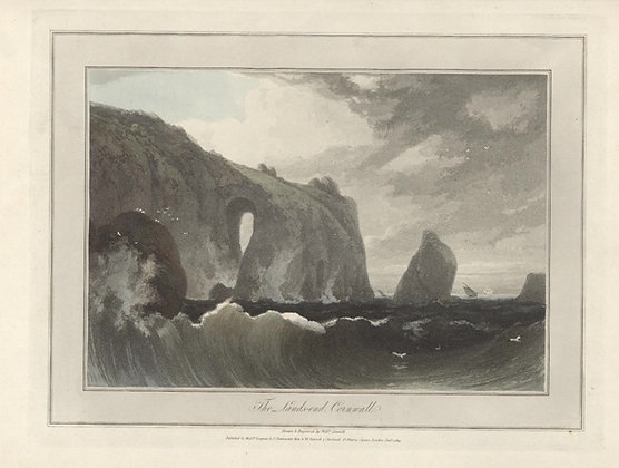 Plate 05: The Lands-end. Cornwall