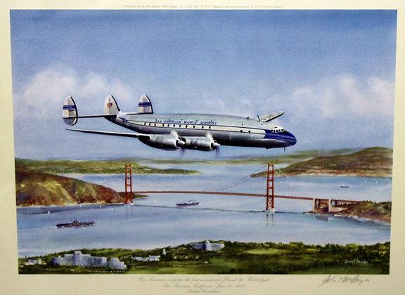 Plate No. 07: Lockheed Constellation