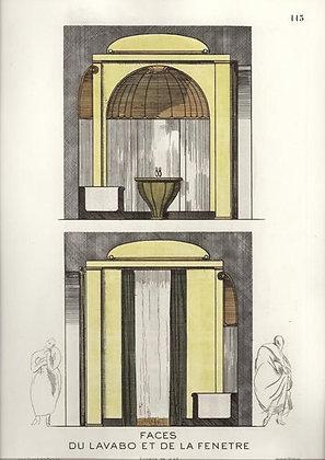 Plate 113: Faces du Lavabo et de la Fenetre