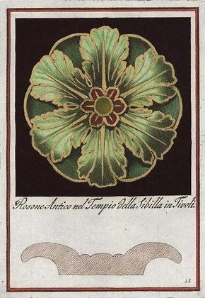 Rosone Antico nel Tempio della Sibilla in Tivoli