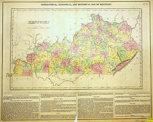 Historical Map of Kentucky