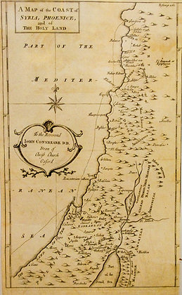 The Coast of Syria, Phoenice, and of the Holy Land
