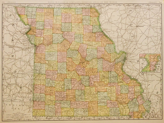 Rand McNally's Missouri
