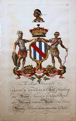 Crest of Arthur Annesley