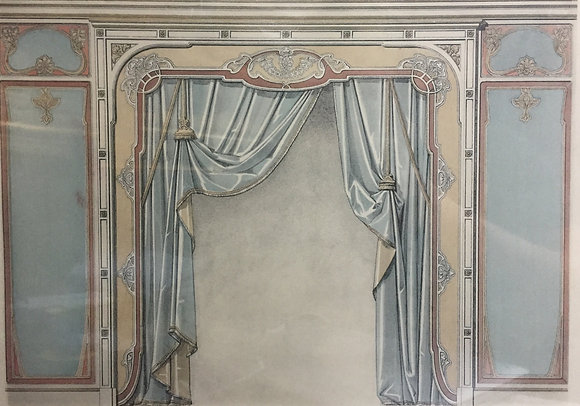 Beds and Drapes: Plate 11