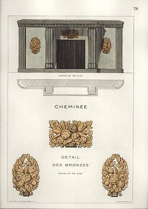 Cheminae & Datail des Bronzes