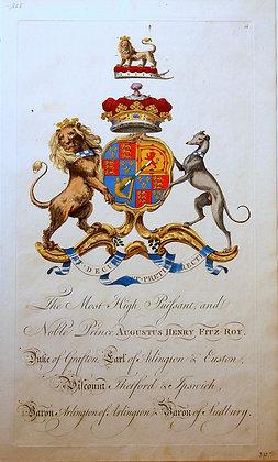 Crest of Augustus Henry Fitz-Roy