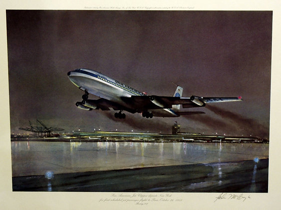 Plate No. 09: Boeing 707
