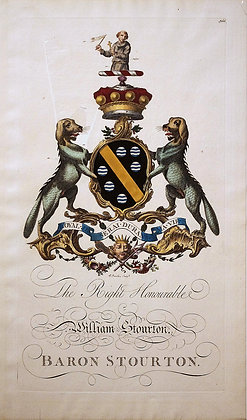 Crest of William Stourton