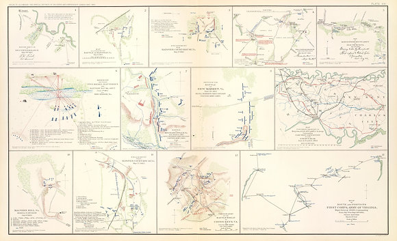 Battle of New Market, Va. First Corps,