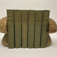 Fox, Jr, John. Works 1910 6 Volumes Hardback, green cloth $150.00