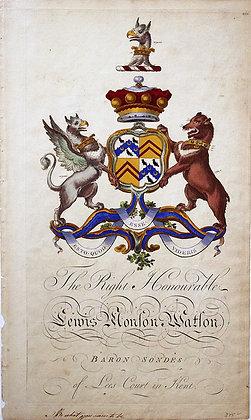 Crest of Lewis Monson Watson