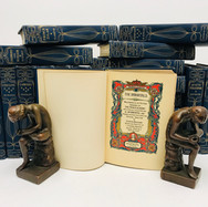 Boissier, Gaston. The Immortals Series 1905    21 Volumes Hardback, blue cloth $220.00