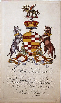 Crest of Thomas Barrett Lennard