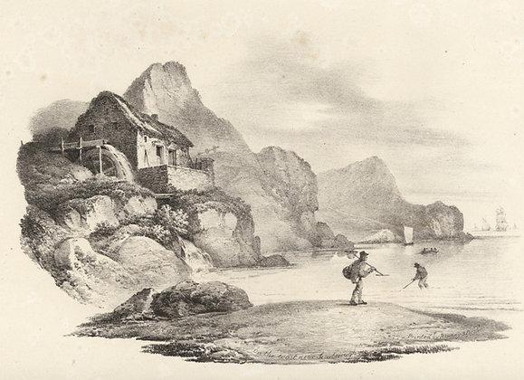 Plate 13: On the Coast near Scarborough