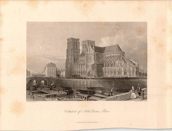 CATHEDRAL OF NOTRE DAME (exterior), PARIS