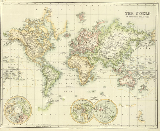 The World of Mercator's Projection
