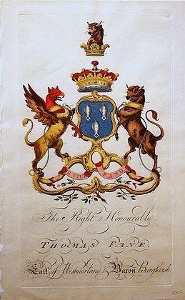 Crest of Thomas Fane