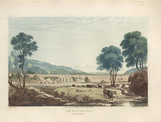 Plate 44: The Vale of Usk