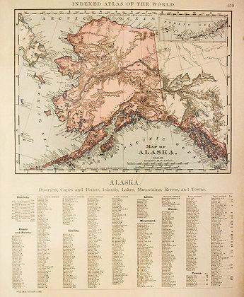 Rand, McNally & Co.'s Map of Alaska