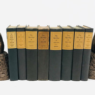 Chapman, John. The Best Plays of 1950-1951. 8 Volumes Hardback, blue cloth $75.00