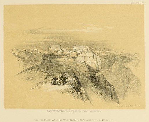 Plate 113 : Chapels on Mount Sinai