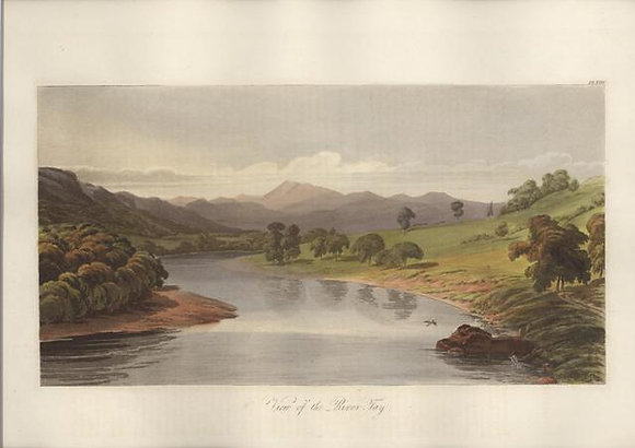 Plate 24: View of the River Tay