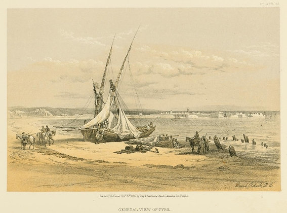 Plate 69 : General View of Tyre