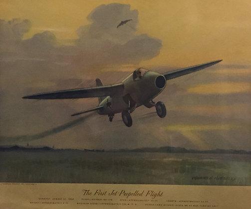 Heinkel HE-178 : The First Jet-Propelled Flight