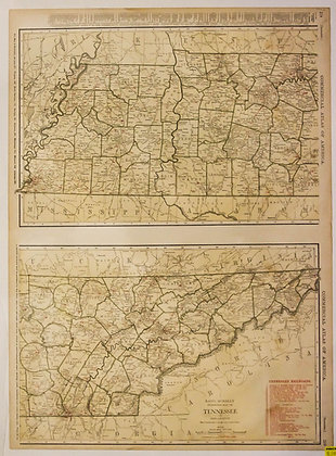 Rand, McNally & Co.'s Tennessee