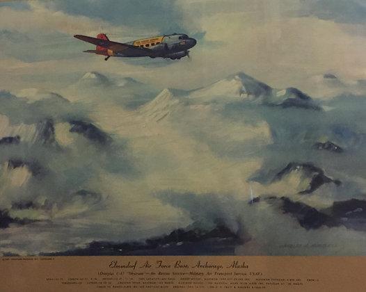 "Douglas C-47 ""Skytrain"" : Elmendorf Air Force Base"