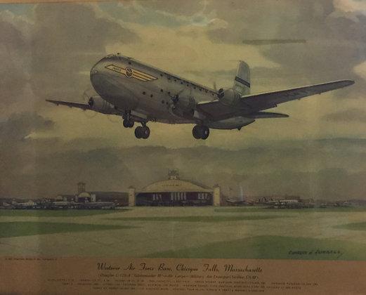 "Douglas C-124-A ""Globemaster II"" : Westover AFB"