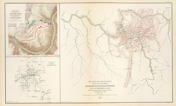 Military Reconnaissance-Vicintity of Gauley Bridge