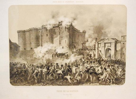 Prise de la Bastille. (14 Juillet 1789).