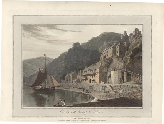 Plate 01: Clovelly on the Coast of North Devon