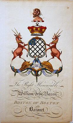 Crest of William Irby