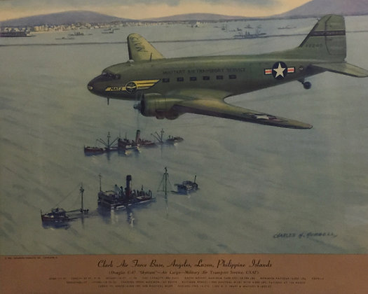 "Douglas C-47 ""Skytrain"" : Clark AFB, Philippines"