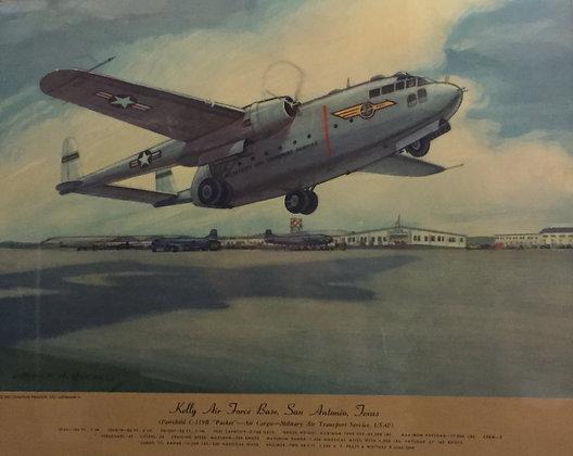"Fairchild C-119B ""Packet"" : Kelly AFB, San Antonio"