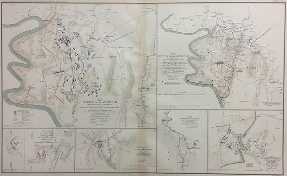 Mao of the Battle of the Antietam