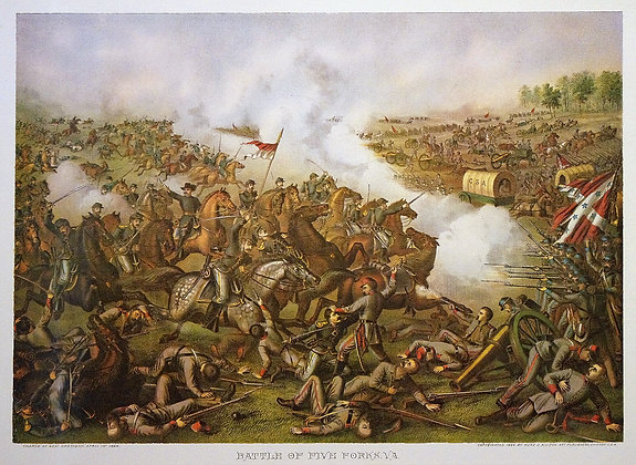 Battle of Five Forks, VA.