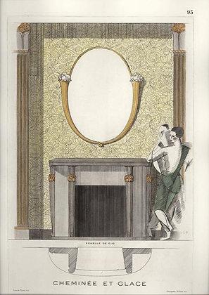Plate 93: Cheminée et Glace