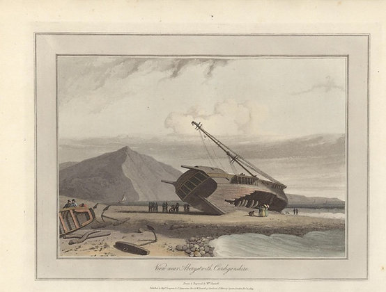 Plate 19: View near Aberystwith. Cardiganshire