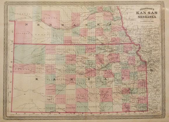 Johnson's Kansas and Nebraska