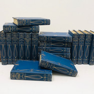 Boissier, Gaston. The Immortals Series 1905 21 Volumes Hardback, blue cloth